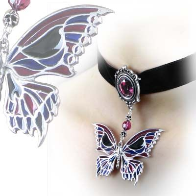Death's-Head Butterfly Choker. I REALLY want this and the matching earrings.