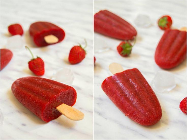 S vášní pro jídlo: Jahodové nanuky s balzamikem
