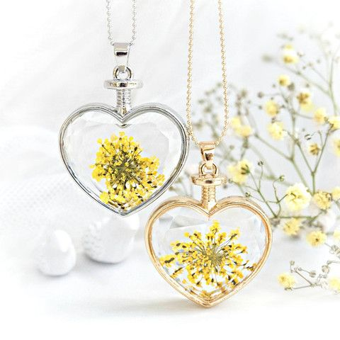 Sunshine Heart Necklace – Hotsy Totsy