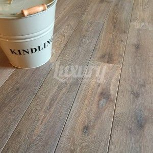 150mm Smoked White Washed Brushed and Oiled European Solid Oak Wood Flooring, 20mm Thick