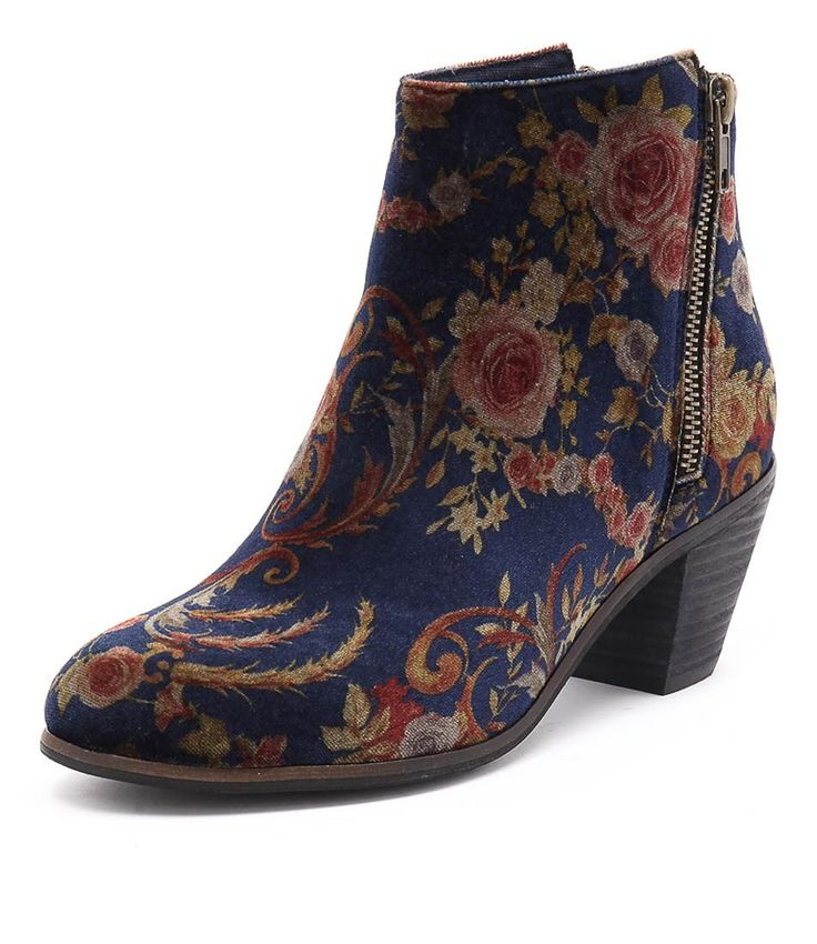 Elevate your look instantly with this printed beauty! Ideal for the winter season, you can't go wrong by styling this pair with fitted jeans, tights or full-length skirts. Shop 'Nolo Navy Print' by I Love Billy at styletread.com.au