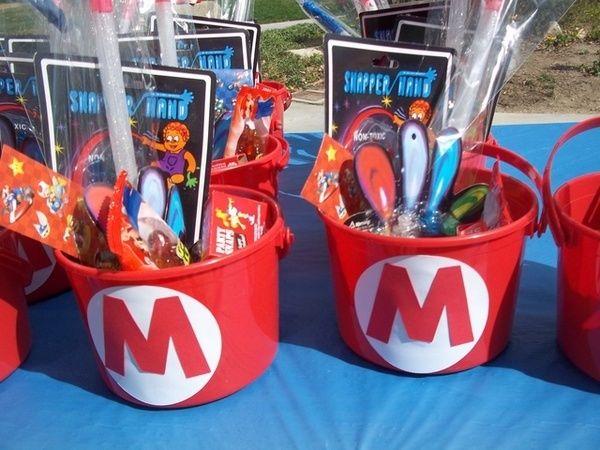 Festa Super Mario - Ideia de lembrancinha - Kit Mario