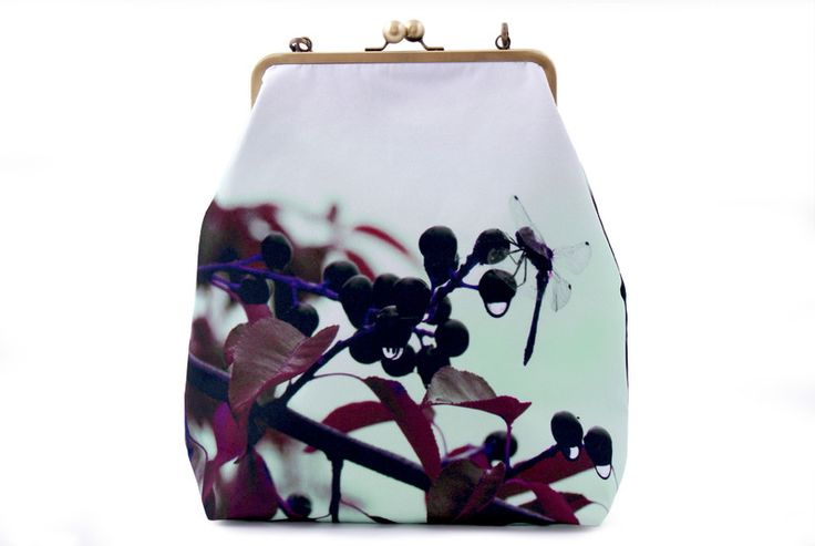 Kolorowa torebka z nadrukiem, fotografia, z biglem w Bajaga Studio na DaWanda.com