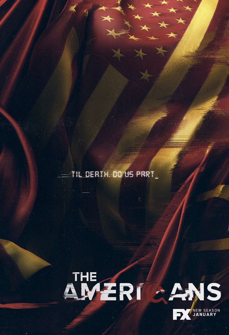 Poster design key -  The Americans Keyart On Behance The Americansproject Ongraphic Design Behanceposterkeygallerieslayoutambiance