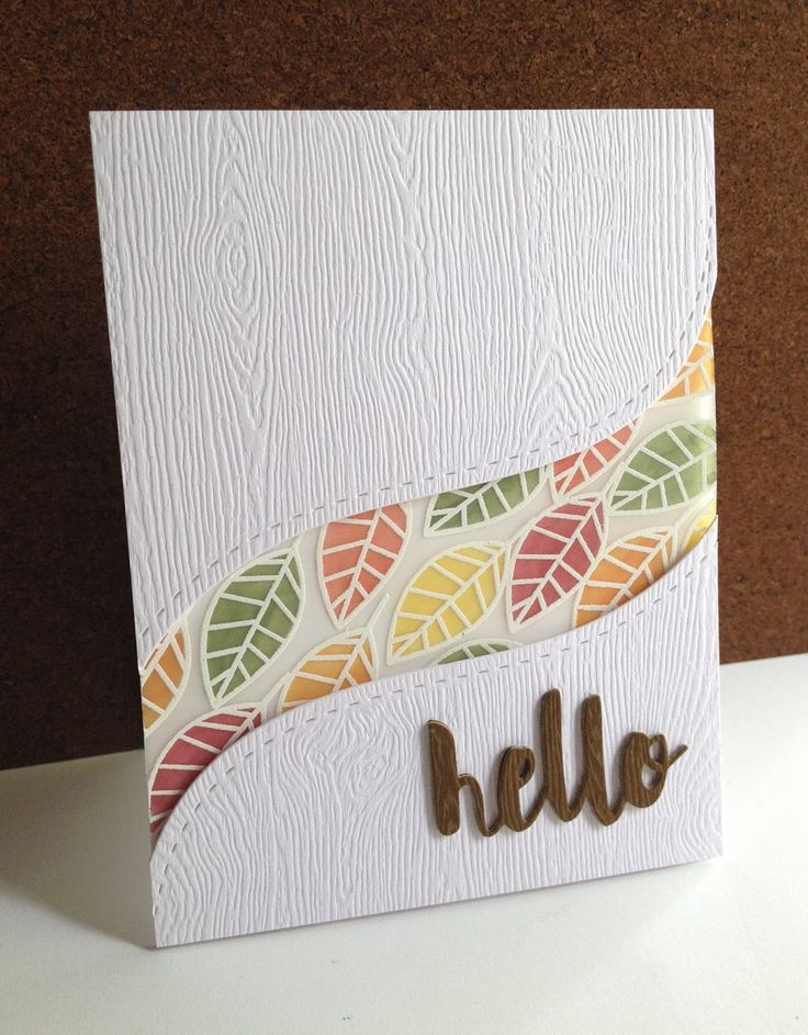 Lovely Card Making Ideas Using Vellum Part - 9: Such A Perfect Card Created By Lisa Adessa Using Simon Says Stamp  Exclusives.