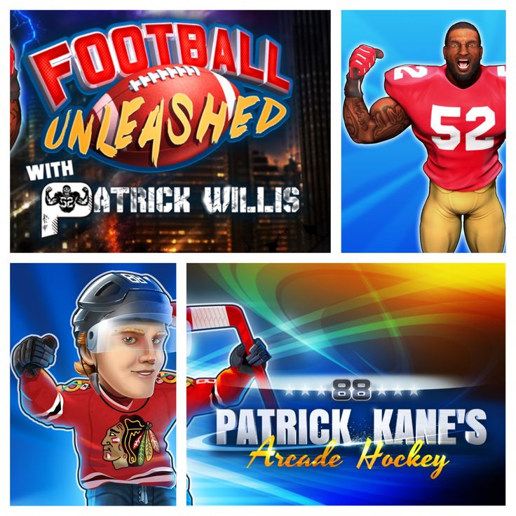 Happy St Patrick's Day! Of course it wouldn't be complete without these two!  Patrick Kane's Arcade Hockey: http://www.dmc-ops.com/pkahstorelink.php   Football Unleashed with Patrick Willis: http://www.dmc-ops.com/pwstorelink.php  #stpatrick #tueasdaytreat #american #football #NFL #Linebacker #Patrick #Willis #52 #sanfrancisco #49ers #mobile #video #games #NHL #Kane #Hockey #88 #Blackhawks #chicago #ios #android