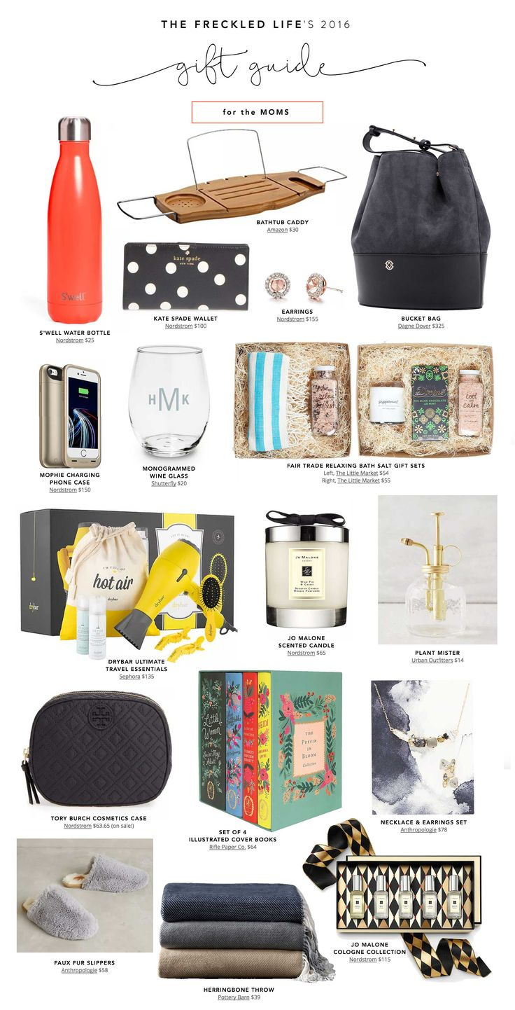 Top Holiday Gifts For Women Part - 18: Budget-friendly Holiday Gifts For The Moms | Holiday Gift Guide 2016 |  Christmas Gifts