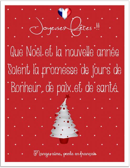 Mange, aime, parle en français.: Joyeuses Fêtes et Bonne Année 2014