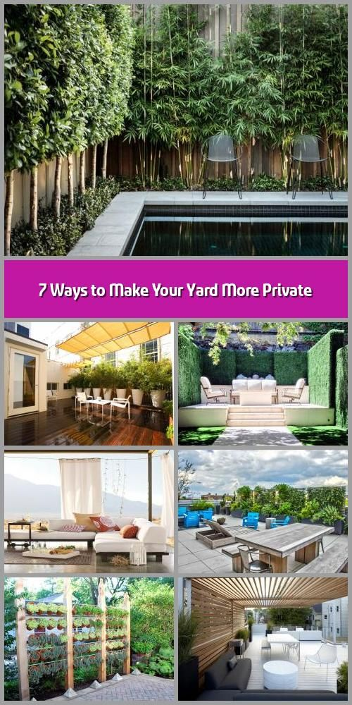 7 Ways to Make Your Yard More Private - Image: Decoist ...