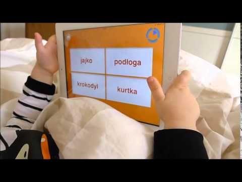 Nauka czytania dla małych dzieci - aplikacja Moje Słowa