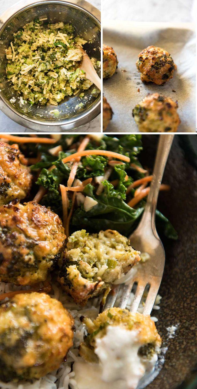 Baked Broccoli Cheese Balls