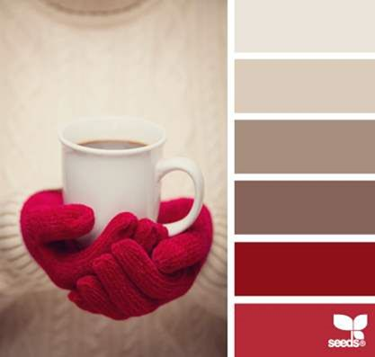 30 Cool Christmas Color Palettes