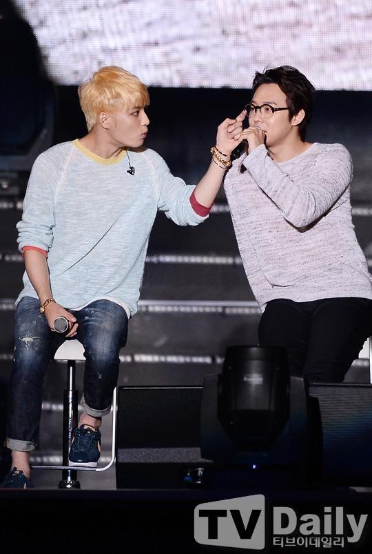 Jae and Micky | JYJ's Membership Week / FM & Showcase 140803