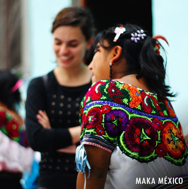 Trabajamos juntas para lograr grandes cosas. #MakaMéxico