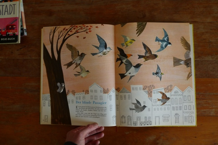 """Pictures from the picture children reading book """"die neue arche noah"""" original 1952    illustrations by: A.+M. Provensen"""