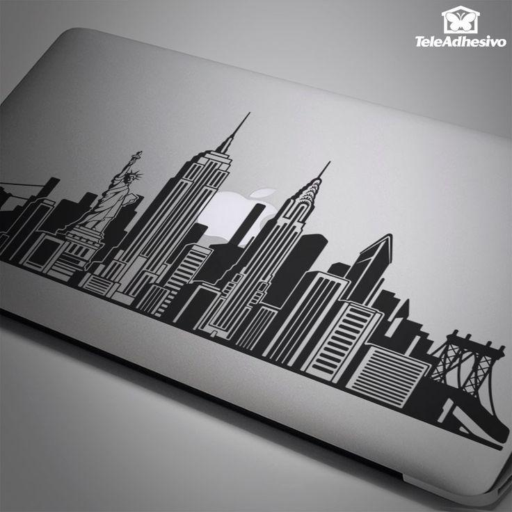 Pegatina Skyline de Nueva York