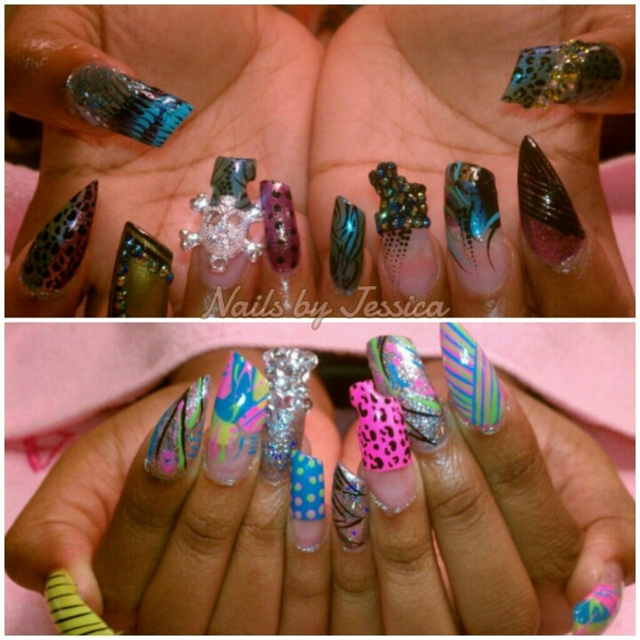 Crazy Nail Art Designs: 1000+ Images About NAILS (CRAZY) On Pinterest