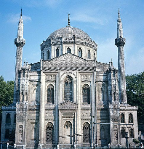 Pertevniyal Valide Sultan Mosque in Istanbul, Turkey