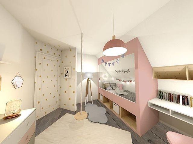 Julie Delvarre Sur Instagram Une Chambre Cabane Pour Une Petite
