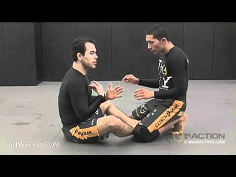 Marcelo Garcia - Butterfly Sweep from Open Guard