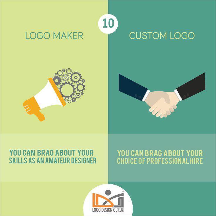 10 Times Custom Logo Design Trumps Logo Maker For Small Business Owners – #logodesign #designer