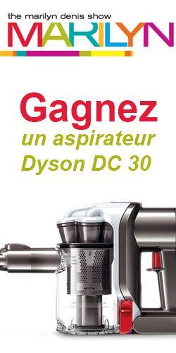 Gagnez un aspirateur sans fil très puissant - un Dyson DC 30, Fin le 24 octobre.  http://rienquedugratuit.ca/concours/gagnez-un-dyson-dc-30/