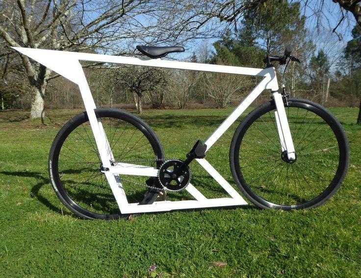 Fabrication d'un fixie avec cadre maison, La Roquette | Fixie Singlespeed, infos vélo fixie, pignon fixe, singlespeed.