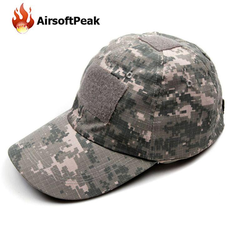 Tactical Hunting Hats Military Baseball Hat Snapback ACU