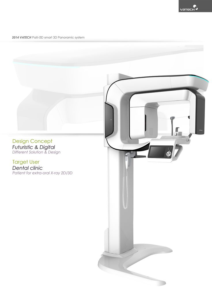 Dental X-ray system on Behance