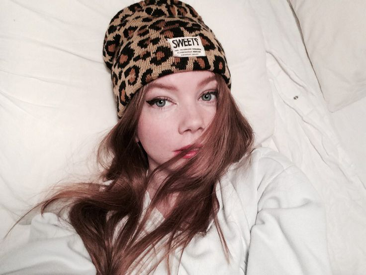 Filippa Smeds in the Statton leo beanie by SWEET SKTBS.