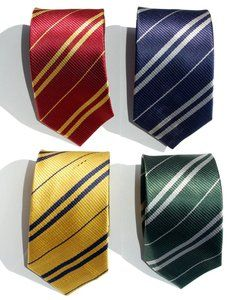 Ties for the Harry Potter houses