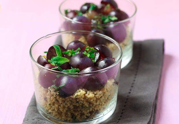 Verrines mentholées au taboulé oriental, Lire la recette des verrines mentholées au taboulé oriental