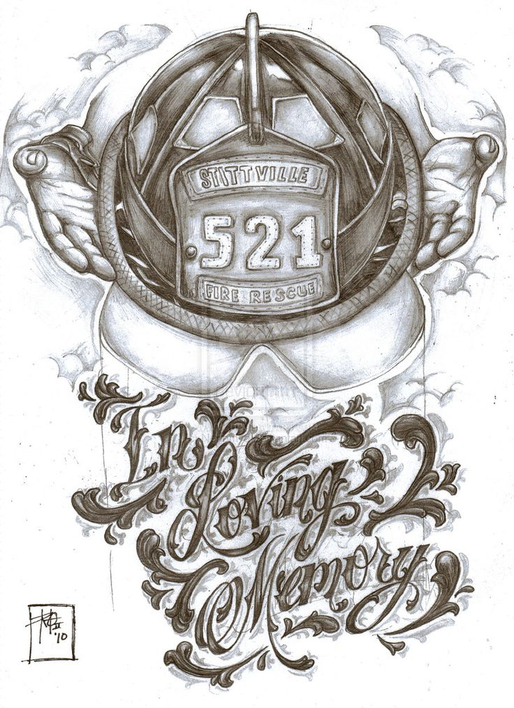 firefighter tattoo designs ideas firefighter memorial tattoo de by nehemya on deviantart - Tattoo Design Ideas