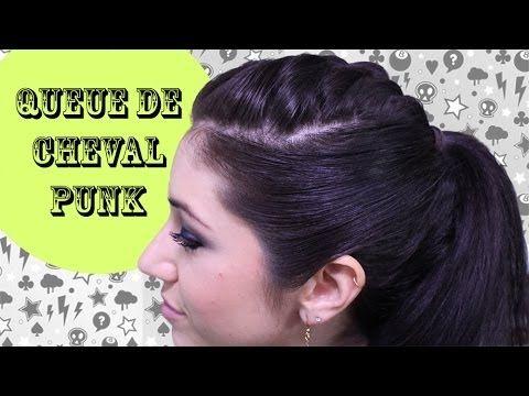 Tutoriel coiffure : Queue de cheval punk — Tout Sur Les Cheveux