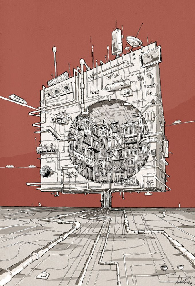 The Space-Cube   Andre Rocha