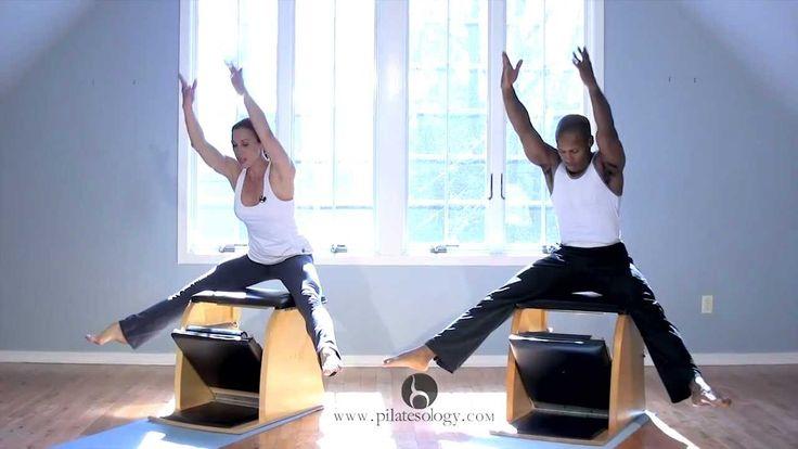 Skull & Crossbones Pilates Wunda Chair PREVEIEW