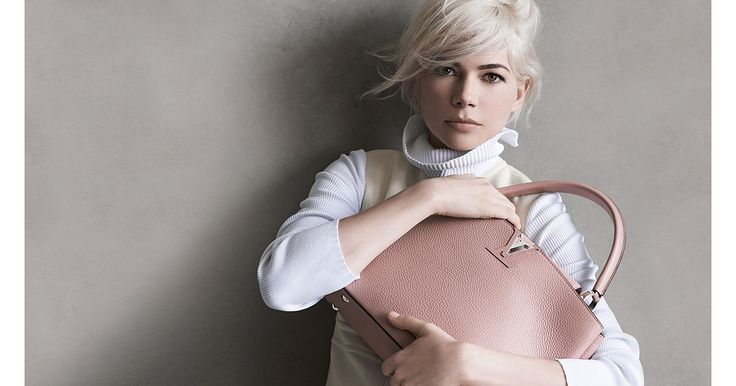 LOUIS VUITTON USA Official Website - Discreet yet assertively feminine… Louis Vuitton's latest creation takes its inspiration from all the savoir-faire of the Maison on the arm of the elegant Michelle Williams.