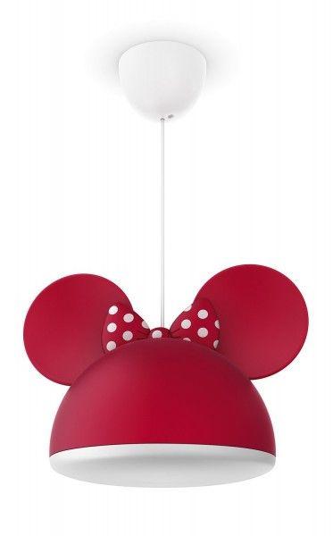 Philips Lampadario Sospensione Sagoma Disney Minnie , Lampade per Bambini con cavo regolabile - TocTocShop.com - Fantastico per i Bambini, Imbattibile nei Prezzi