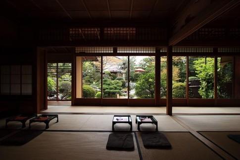 yojiya cafe, ginkakuji, kyoto