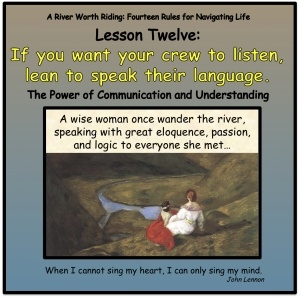 If you want your crew to listen, learn to speak their language.