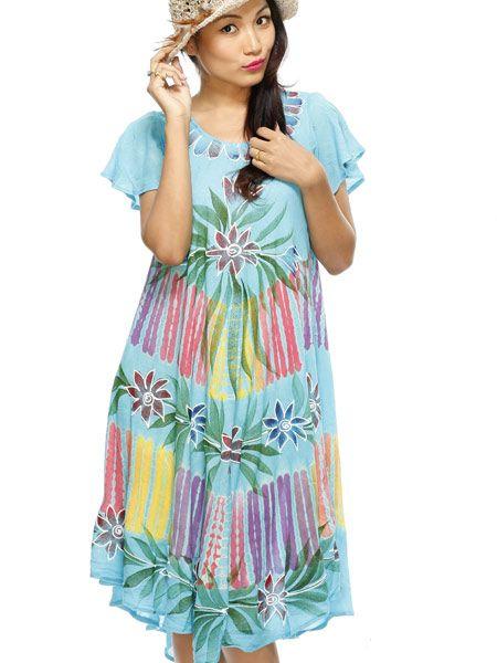 Beautiful, soft, flowing summer dress