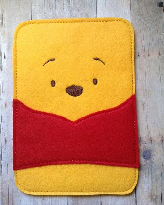 Pooh Bear Inspired Gadget Tablet EReader Device by lilliannamarie, $16.00