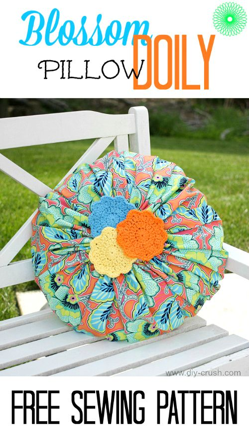 Blossom Doily Pillow Sewing Pattern \u0026 Review