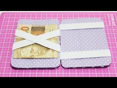Carteira Mágica com Caixa de Leite - Passo a Passo - Segredos de Aline - YouTube