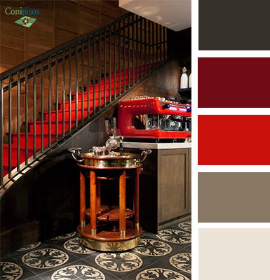 Si te gusta el #color #rojo en la #decoracion pueba combinarlo con nuestro #mosaico y #tiles coloniales #Napoli-51A, hará de tu espacio #interiors un lugar mágico.
