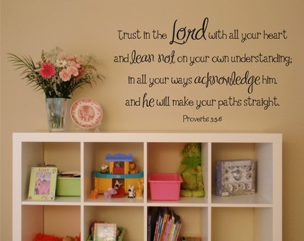 SCRIPTURE I LOVE: The Lord, Proverbs, Scriptures Wall Art, Love Scriptures, Vinyls Wall Decals, Bible Verses, Girls Rooms, Wall Word, Kids Rooms