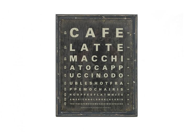 Cafe Wall Art 57 x 71 CM | Super Amart
