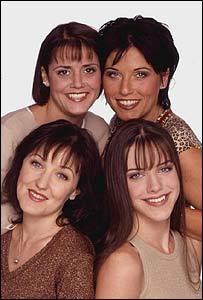 The Slater Girls Lynn, Kat, Little Mo and Zoe Slater - Eastenders