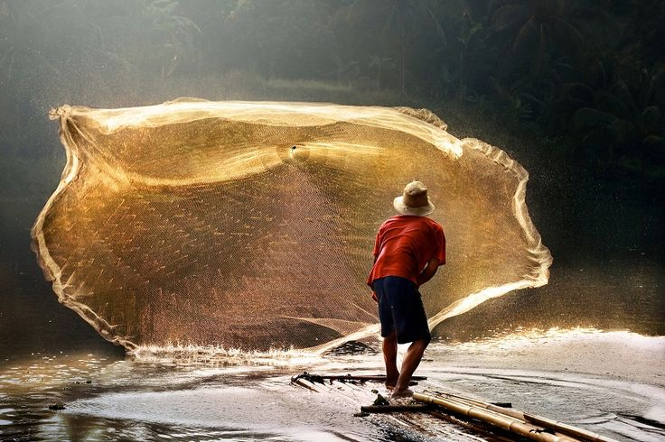 Photo Sengkol Fisherman - André Arment