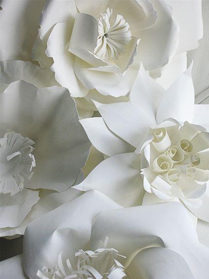 Paper flowers. Zauberhafte Papierblüten.
